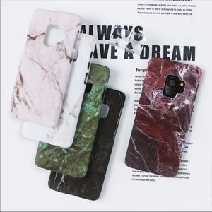 Accessories - Marble Samsung Cases in 4 Colors